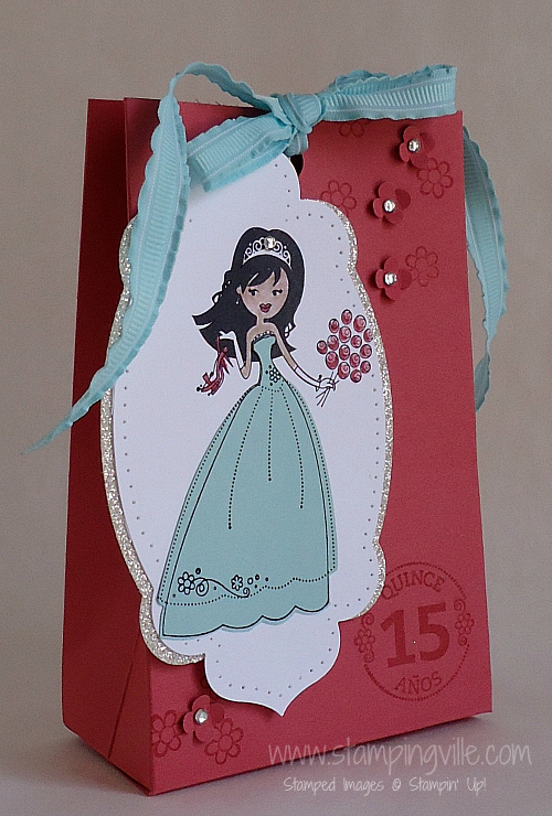 Stampin' Up! Quinceañera Princess Party Bag