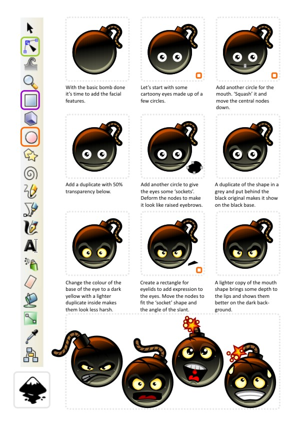 Elements Of Artistic Expression : Spriteattack s art tutorials page — welcome to the