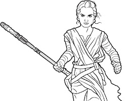 Coloring Sheets Star Wars Force Awakens