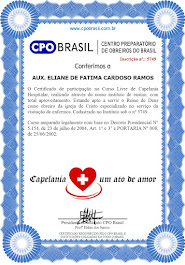 CURSO DE CAPENARIA ELIANE