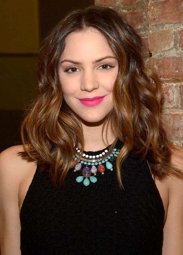 Katherine McPhee - Celebrity Necklace Trends