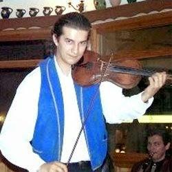 Hungarian Gypsy violinist Balazs Nyari