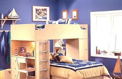 dormitorio para niño moderno
