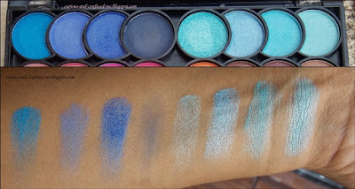 Nicka K New York Eye Shadow Palette, Nicka K New York Perfect 32 Colors Eye Shadow Palette review, Nicka K New York Perfect 32 Colors Eye Shadow Palette swatches, Nicka K New York 32 Colors Eye Shadow Palette review, Nicka K 32 Colors Eye Shadow Palette review, Nicka K Eye Shadow Palette review swatches, Nick K eyeshadow, Dusky blogger
