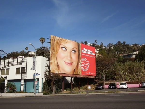 Parks and Recreation 2014 Emmy billboard