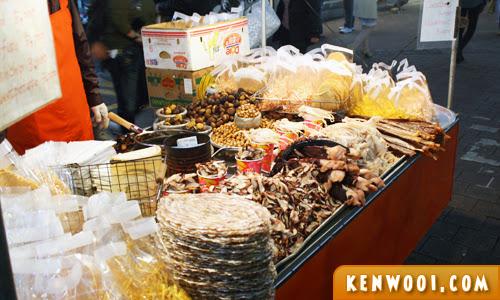 seoul market street food
