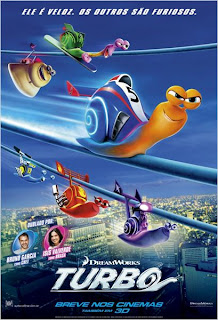 "Poster do filme ""Turbo"""