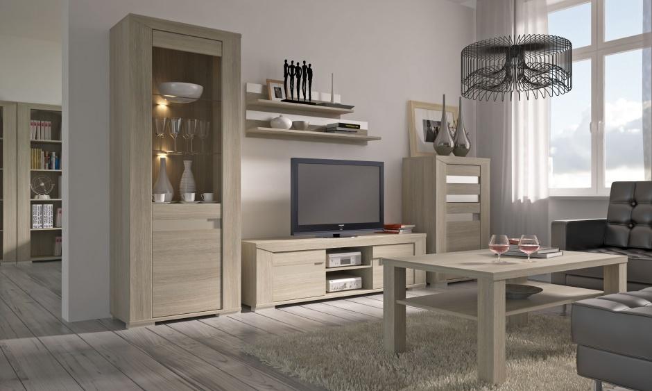 Muebles para salas con madera de roble decoraci n de salas - Objetos decorativos salon ...