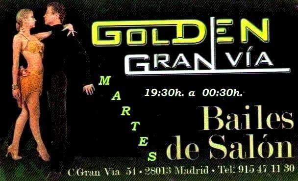 Martes baile de sal n en golden gran v a madrid for Academias de bailes de salon en madrid