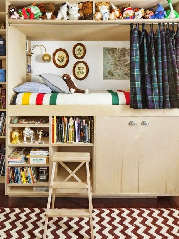 dormitorio habitación cama litera niños kids