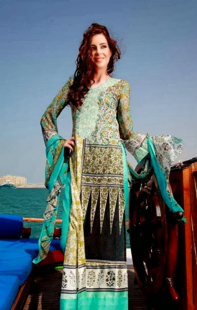 Beach Wear Lawn Collection Dress