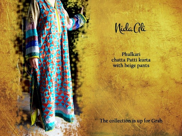 Nida Ali - Luxury Eid Pret Collection 2014