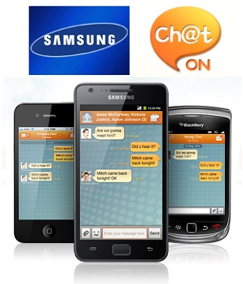 Samsung Chat On Present on BlackBerry