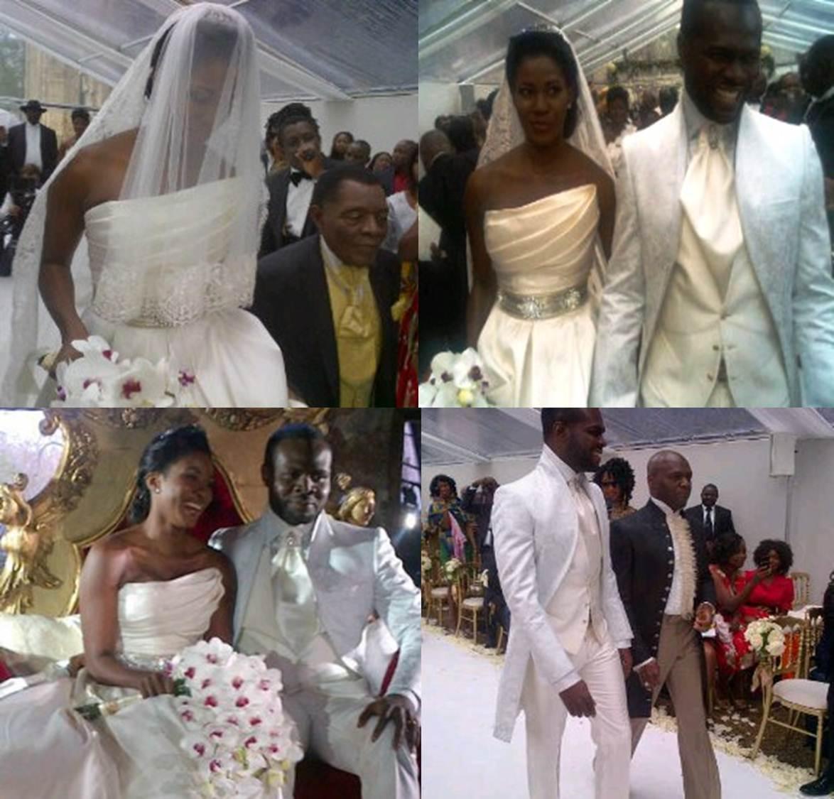 Okereke stephanie wedding