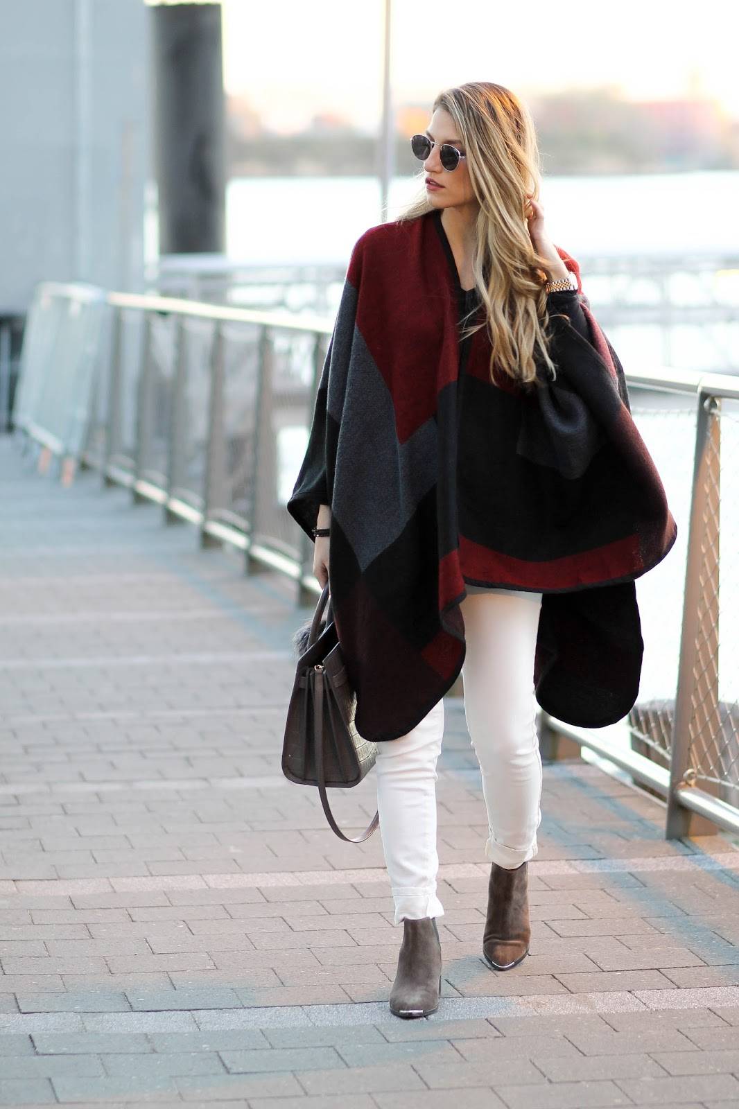 poncho outfit, dressed for dreams