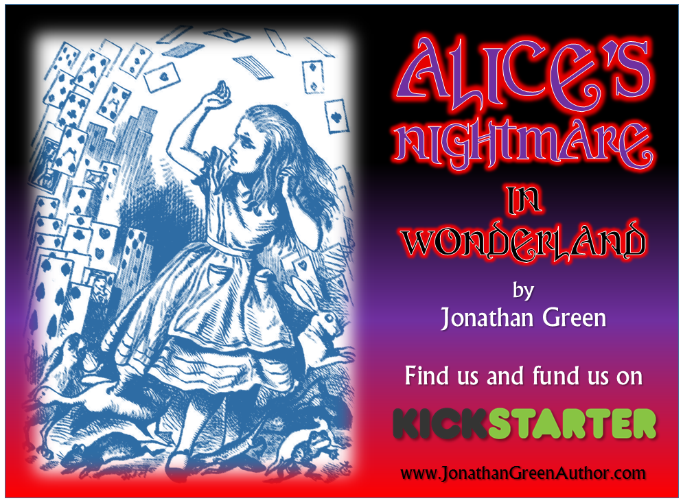 Jonathan Green Author The Alices Nightmare In Wonderland