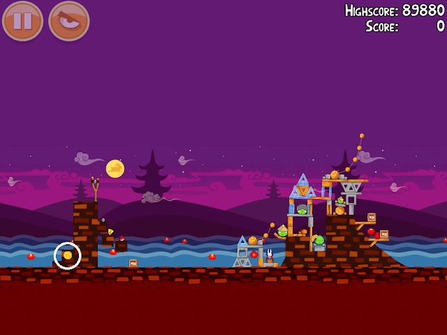 Angry Birds Seasons: Mooncake Festival 1-5