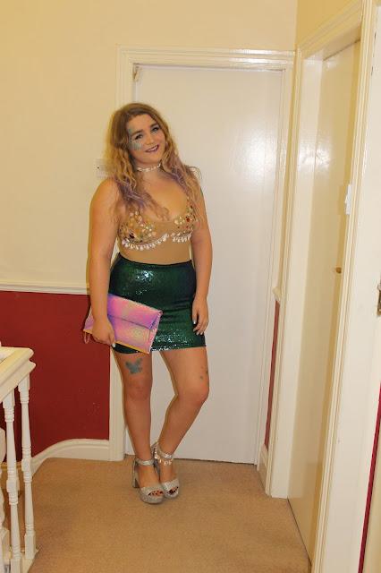 Halloween Outfit Idea Mermaid