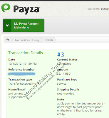 Adf.ly Payment Proof #3