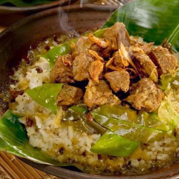 Resep Membuat Nasi Pindang Daging Kerbau Kudus