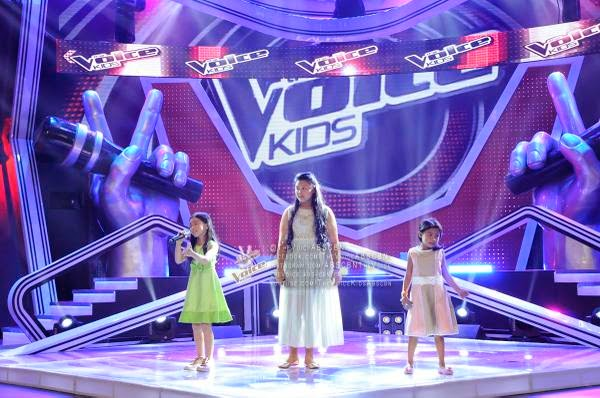 Lyca, Edray and Darlene belt out 'Let It Go' on The Voice Kids PH