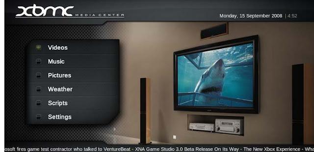 XBMC Media Center 12.1