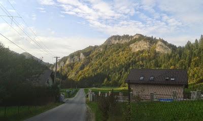 Rowerem na Słowację