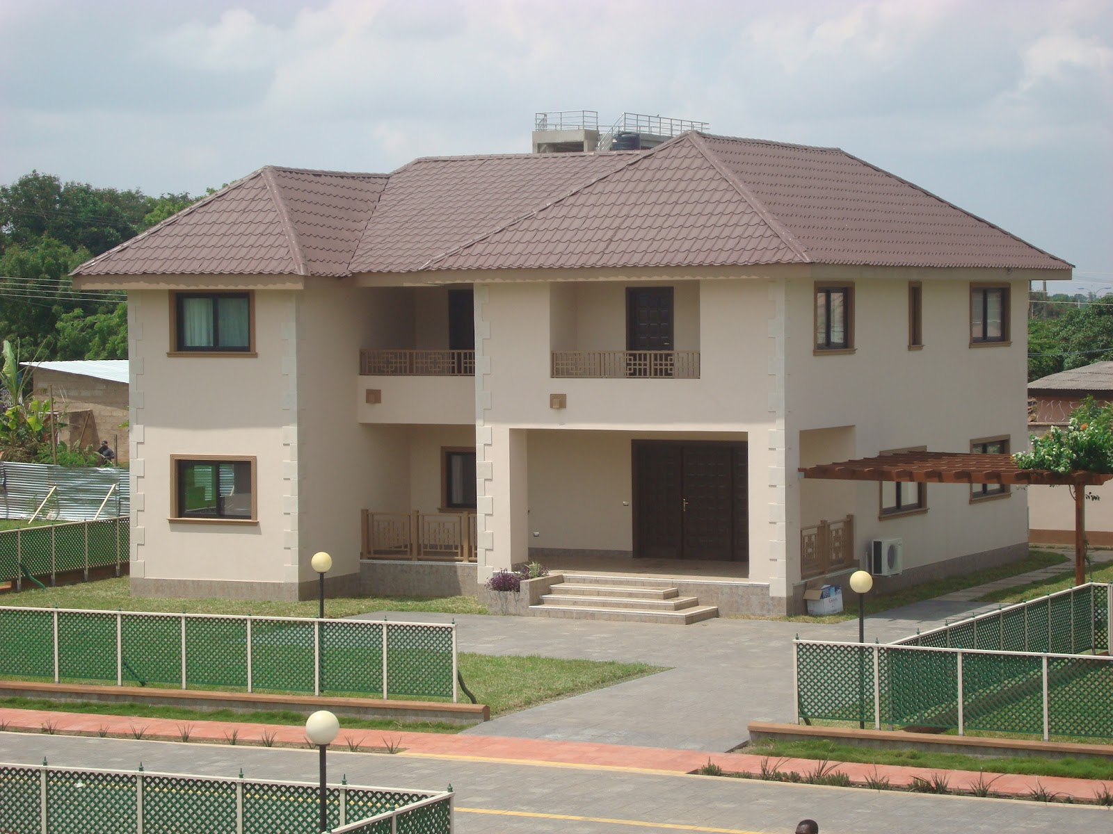 House for sale accra ghana fiore village gated community for Houses for sale