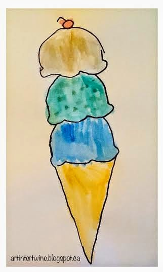 Art Intertwine - Wayne Thiebaud Art For Kids