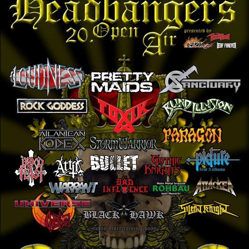 Headbangers Open Air 2017