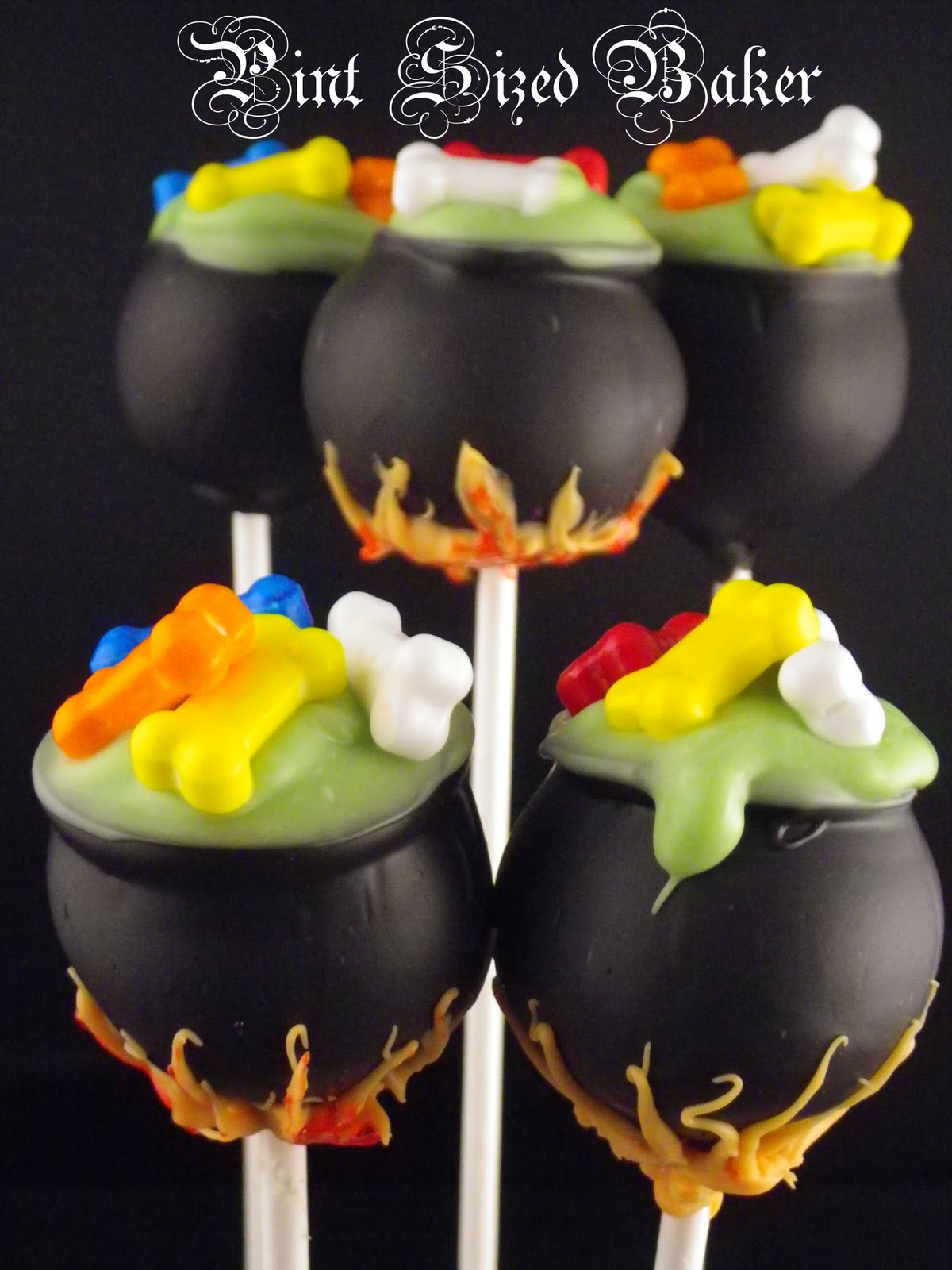 halloween cake pops - pint sized baker