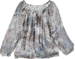 Blusa seda Florencia