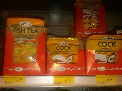 Fish Tea and Cock Soup