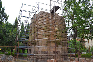 Restoration of temple by ASI