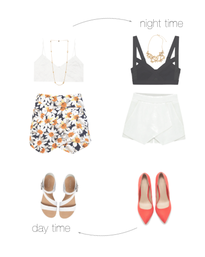 outfit fashion skirt rock flowers design blogger