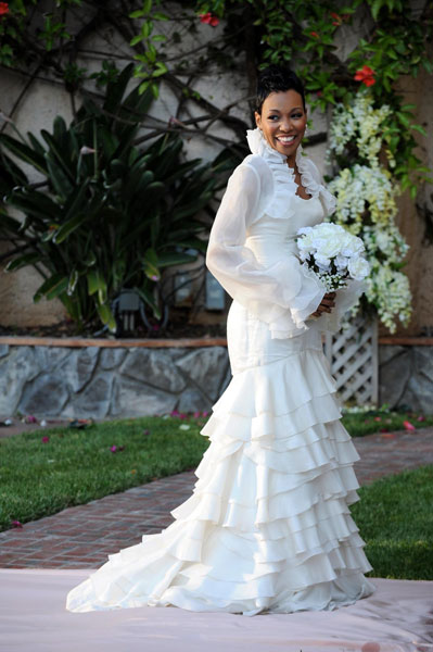Monica 39s Wedding Dress is Amazing Renewal Ceremony