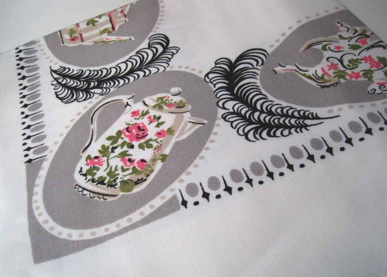 Tea With Friends: A rainbow of teapot tablecloths
