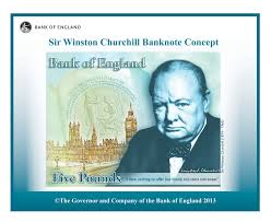 Churchill banknote