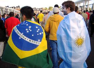 Rivalidade Brasil e Argentina