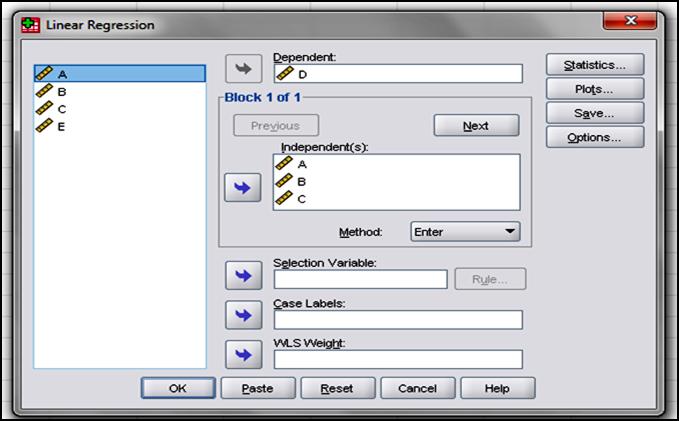 path analysis using spss pdf
