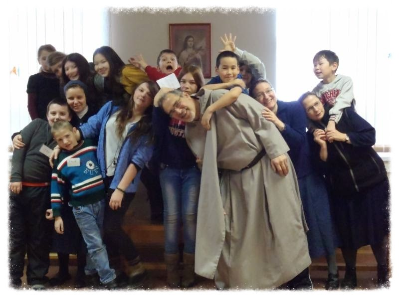 Mission to Magadan Fr Michael Shields Children Saturday Club April 29 2014