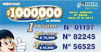 numeros ganadores loteria ecuador 27 mayo
