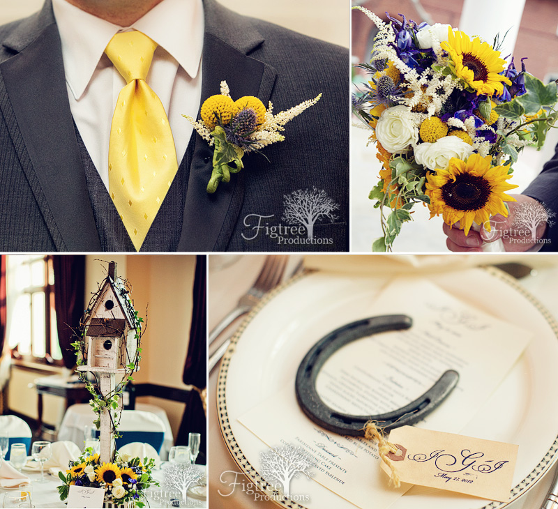 Knoll country club west wedding