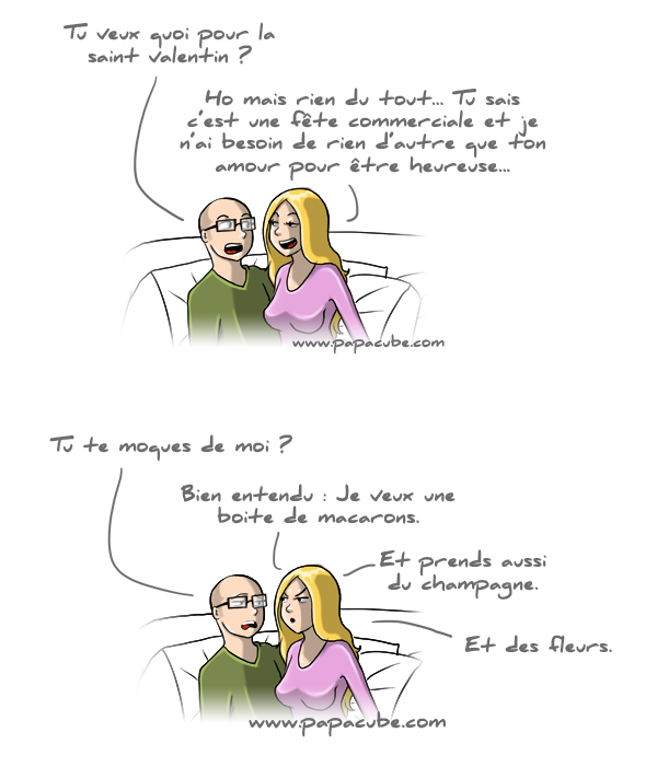 saint valentin  blague