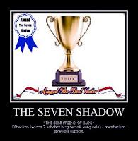 award the seven shadow, award akhir tahun