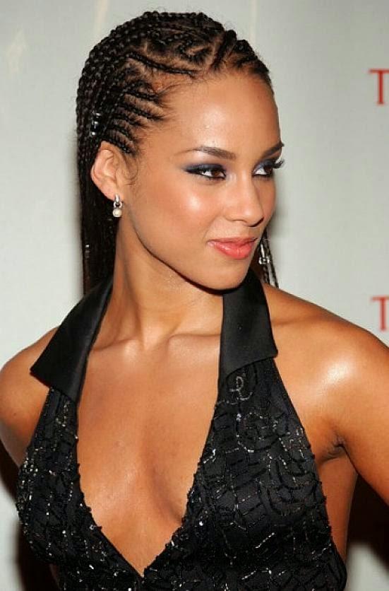 Mujeres Negras On Estilos De Peinados Con Trenzas Para Afro
