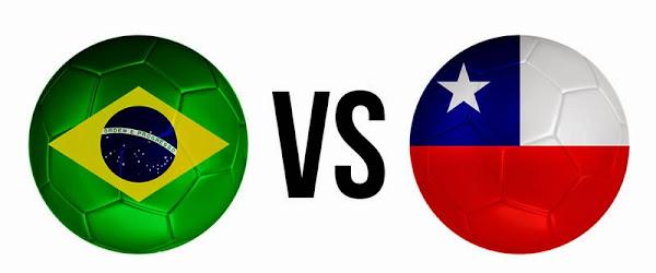 REPETICION SELECCIONES BRASIL VS CHILE, Goles, Resultados, Estadisticas, Online