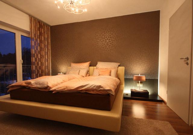 Dormitorios en color marr n chocolate colores en casa - Diseno para dormitorios ...