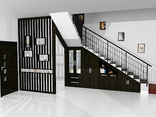 Model Dan Ukuran Tangga Rumah Minimalis Modern