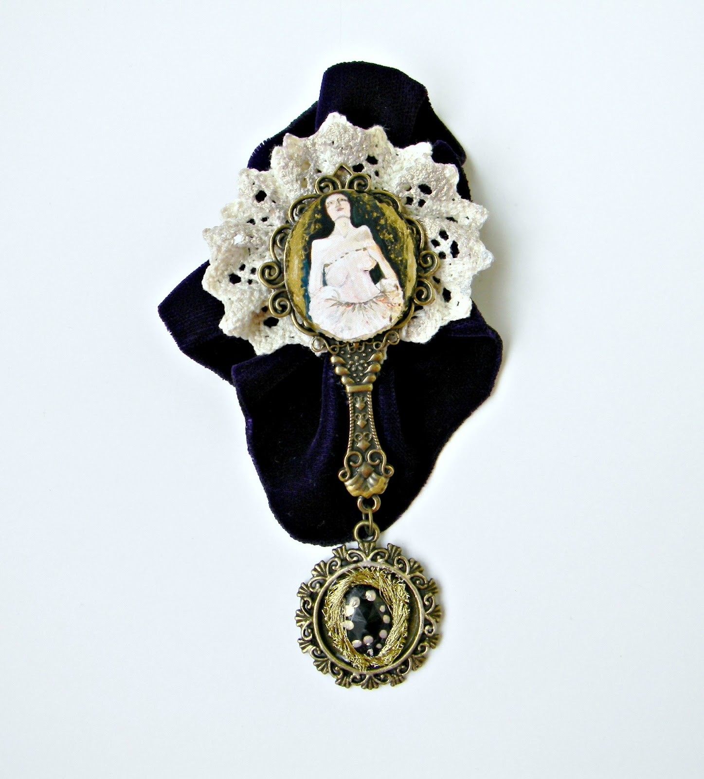 """Moony"" Brooch"